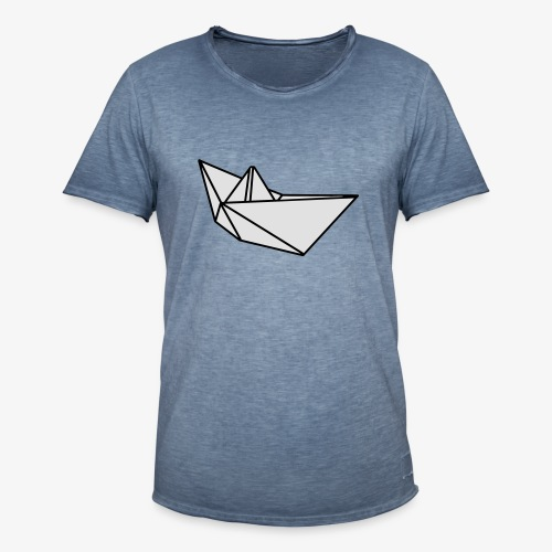 Origami Papierflieger Taschen & Rucksäcke - Männer Vintage T-Shirt