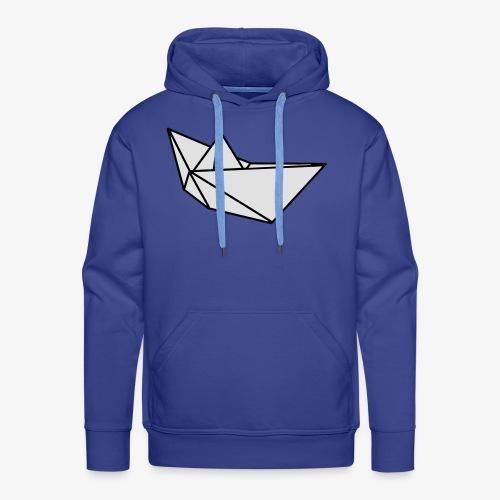 Origami Papierflieger Taschen & Rucksäcke - Männer Premium Hoodie