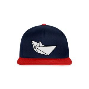 Origami Papierflieger Taschen & Rucksäcke - Snapback Cap