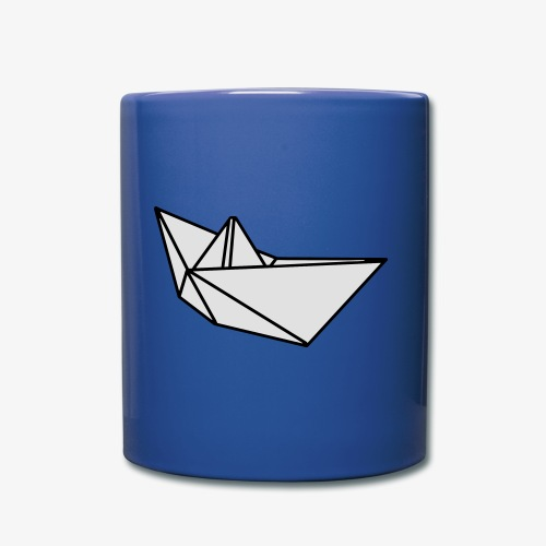 Origami Papierschiff T-Shirt