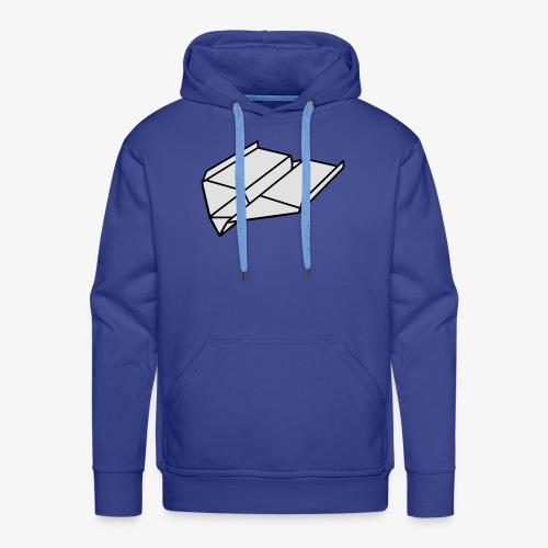Origami Papierflieger Pullover & Hoodies - Männer Premium Hoodie