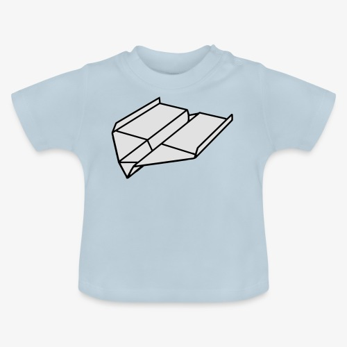 Origami Papierflieger Pullover & Hoodies - Baby T-Shirt
