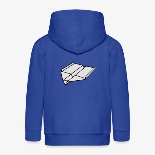 Origami Papierflieger Pullover & Hoodies - Kinder Premium Kapuzenjacke
