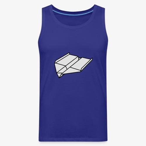 Origami Papierflieger Pullover & Hoodies - Männer Premium Tank Top