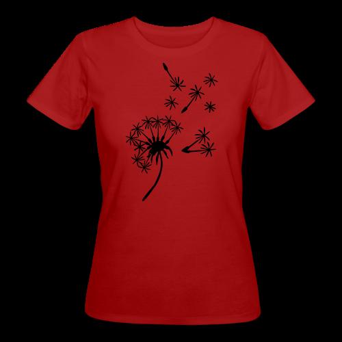 Kinder Kapuzenpullover Pusteblume - Frauen Bio-T-Shirt