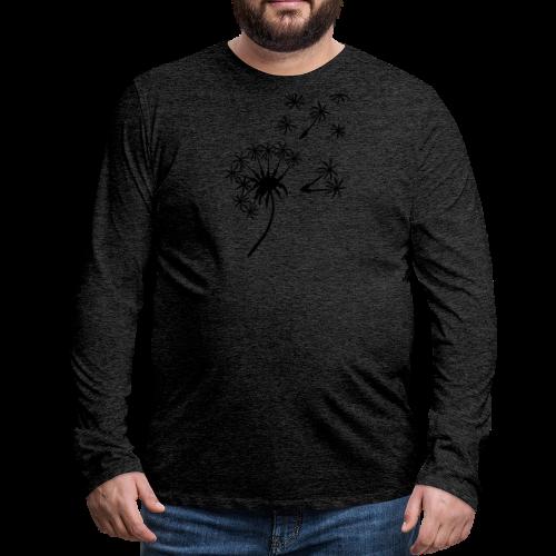 Kinder Kapuzenpullover Pusteblume - Männer Premium Langarmshirt