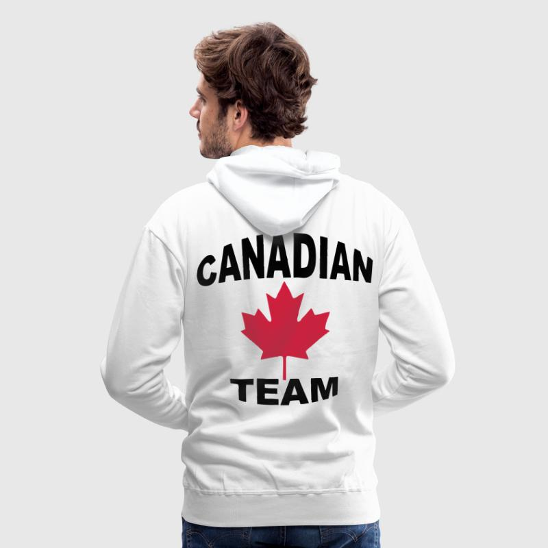 Canadian team Hoodies & Sweatshirts - Men's Premium Hoodie