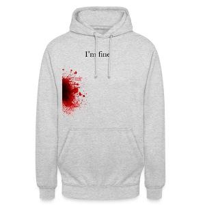 Zombie Terror War Shirt - I'm fine T-Shirts - Unisex Hoodie