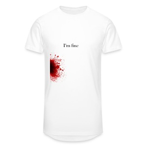 Zombie Terror War Shirt - I'm fine T-Shirts - Männer Urban Longshirt
