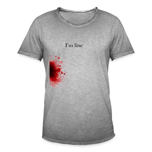 Zombie Terror War Shirt - I'm fine T-Shirts - Männer Vintage T-Shirt