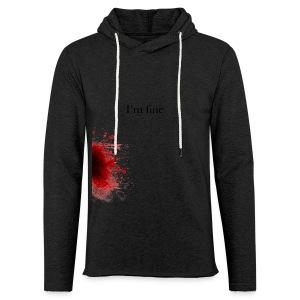 Zombie Terror War Shirt - I'm fine T-Shirts - Leichtes Kapuzensweatshirt Unisex