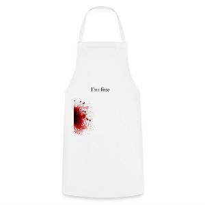 Zombie Terror War Shirt - I'm fine T-Shirts - Kochschürze