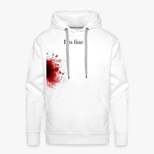 Zombie Terror War Shirt - I'm fine T-Shirts - Männer Premium Hoodie