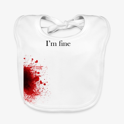 Zombie Terror War Shirt - I'm fine T-Shirts - Baby Bio-Lätzchen