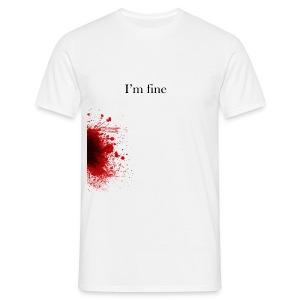 Zombie Terror War Shirt - I'm fine T-Shirts - Männer T-Shirt