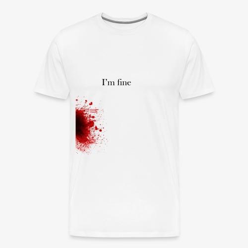 Zombie Terror War Shirt - I'm fine T-Shirts - Männer Premium T-Shirt
