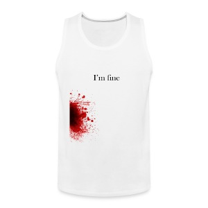Zombie Terror War Shirt - I'm fine T-Shirts - Männer Premium Tank Top