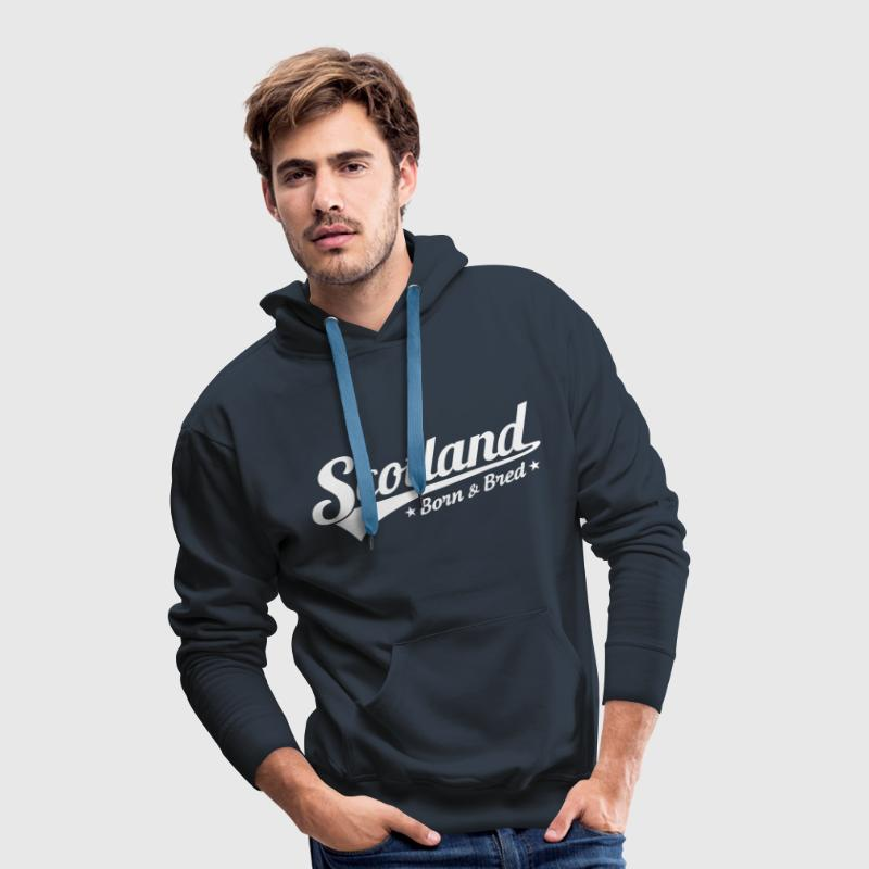 Scotland Born & Bred Hoodies & Sweatshirts - Men's Premium Hoodie
