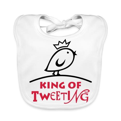 TWEETLERCOOLS king of tweeting - Baby Bio-Lätzchen