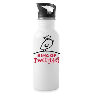 TWEETLERCOOLS king of tweeting - Trinkflasche