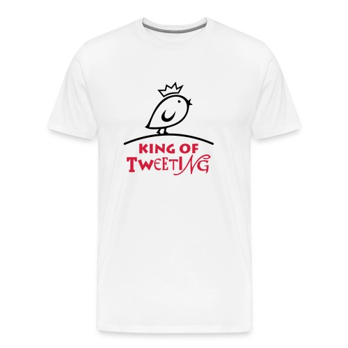 TWEETLERCOOLS king of tweeting - Männer Premium T-Shirt
