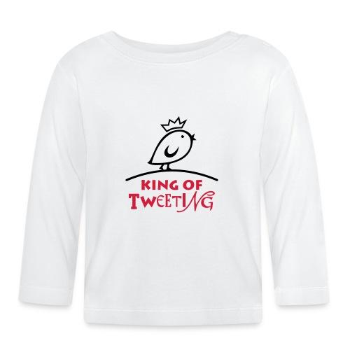 TWEETLERCOOLS king of tweeting - Baby Langarmshirt