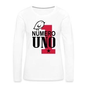 TWEETLERCOOLS numero uno - Frauen Premium Langarmshirt