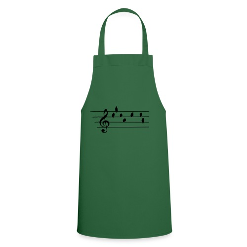 Music - Treble Clef - birds as notes   Hoodies - Kochschürze