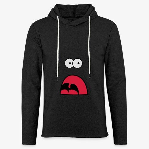 Monster - Schrei und Fressen T-Shirts - Leichtes Kapuzensweatshirt Unisex