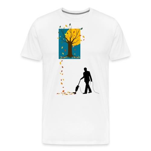 LaubSauger-C-BioShirt - Männer Premium T-Shirt