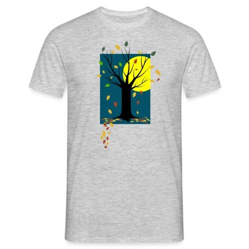 Herbst-C-BioShirt_grau - Männer T-Shirt