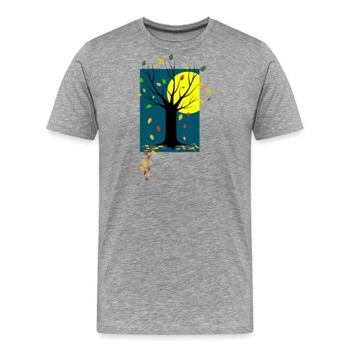 Herbst-C-BioShirt_grau - Männer Premium T-Shirt