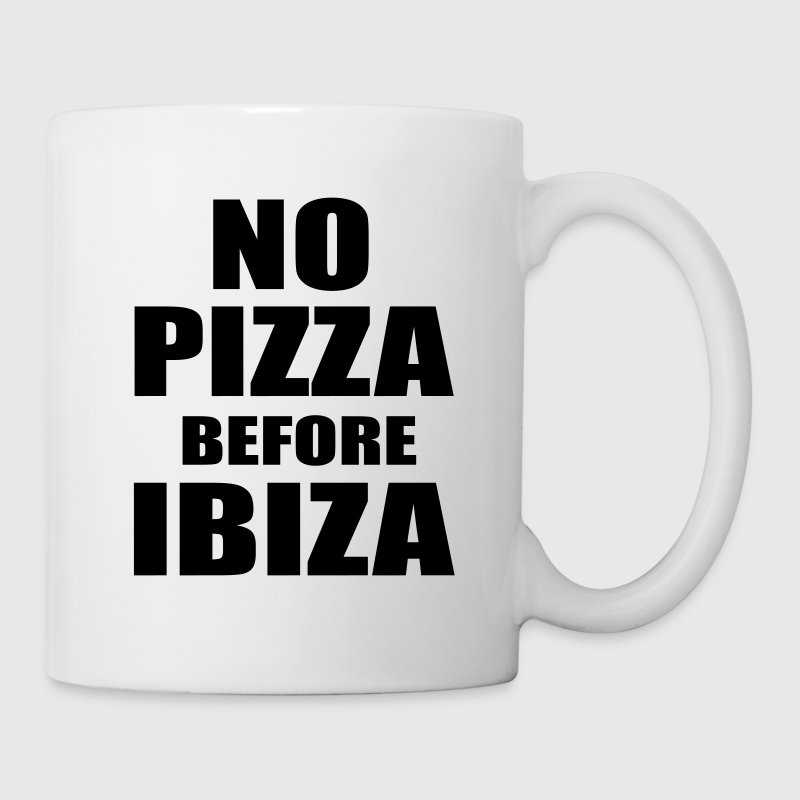 No Pizza Before Ibiza Bottles & Mugs - Mug