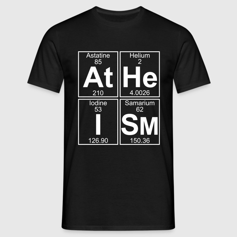 At-He-I-Sm (atheism) - Full T-Shirts - Men's T-Shirt
