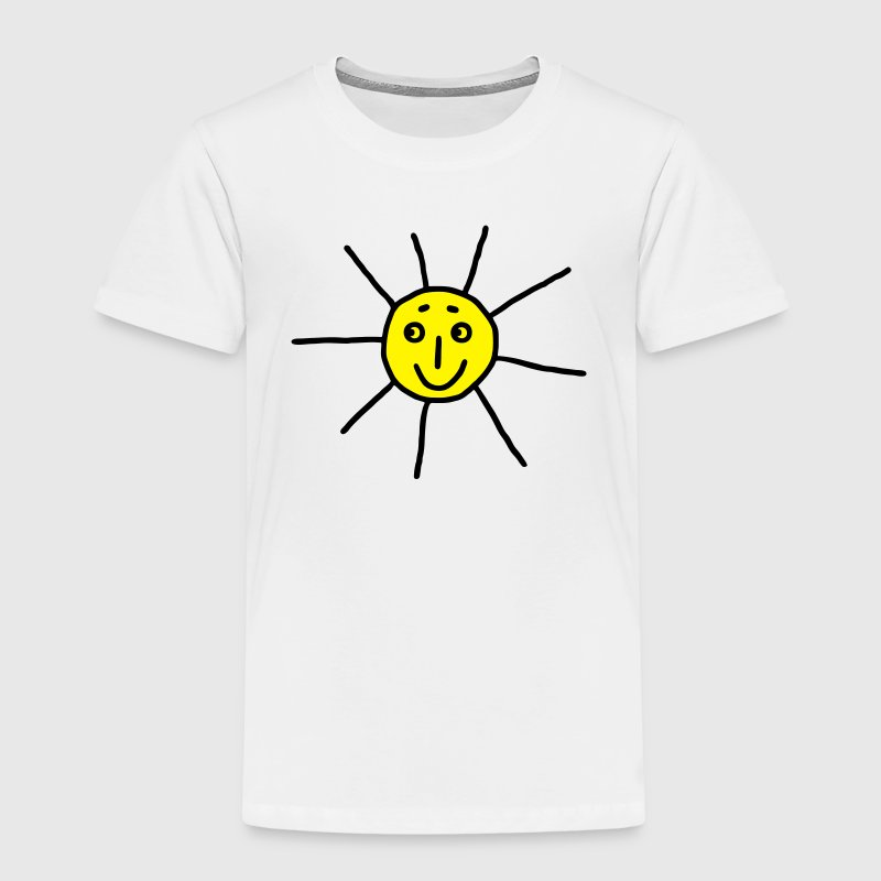 Sun - Kids Picture - V2 Shirts - Kids' Premium T-Shirt