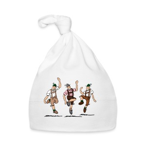 Grillschürze Lederhosen Schuhplattler - Baby Mütze