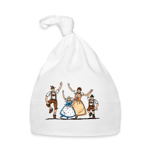 Bierkrug Oktoberfest Fröhliche Familie - Baby Mütze