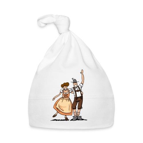 Bierkrug Oktoberfest Fröhliches Paar - Baby Mütze