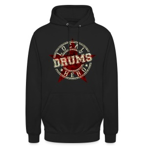 Local Hero DRUMS - Unisex Hoodie
