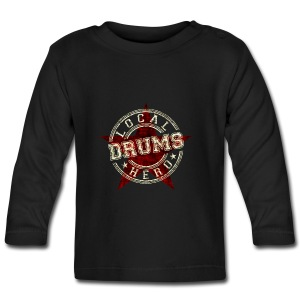 Local Hero DRUMS - Baby Langarmshirt