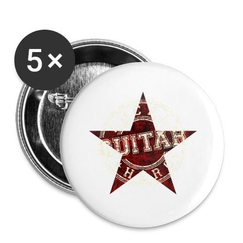 Local Hero GUITAR - Buttons klein 25 mm