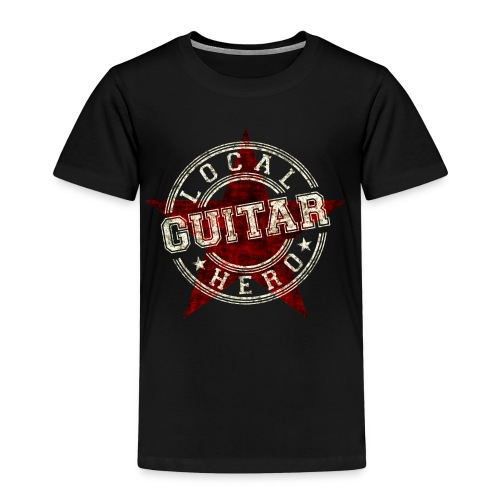 Local Hero GUITAR - Kinder Premium T-Shirt
