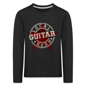 Local Hero GUITAR - Kinder Premium Langarmshirt