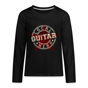 Local Hero GUITAR - Teenager Premium Langarmshirt
