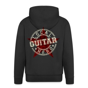 Local Hero GUITAR - Männer Premium Kapuzenjacke