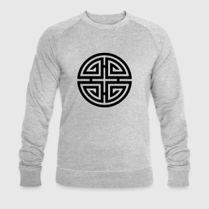 Four blessings, Chinese Good Luck Symbol, Charms T-shirts - Mannen sweatshirt van Stanley & Stella