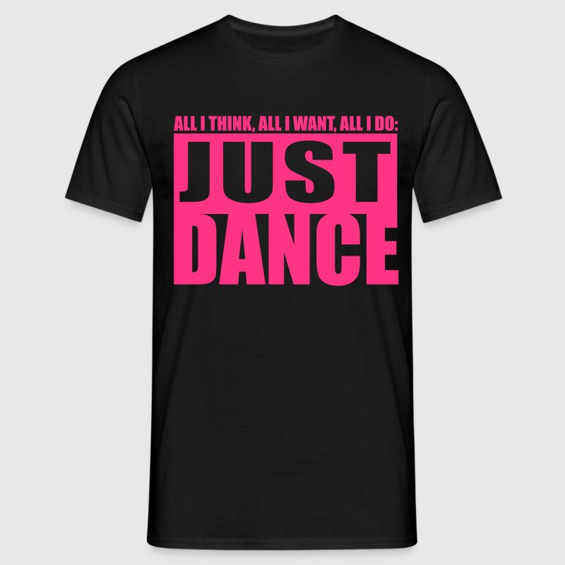 [JUST DANCE] noir - T-shirt Homme