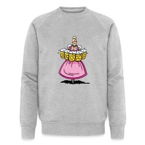 Damen T-Shirt Oktoberfest Bedienung Maßkrüge - Männer Bio-Sweatshirt von Stanley & Stella