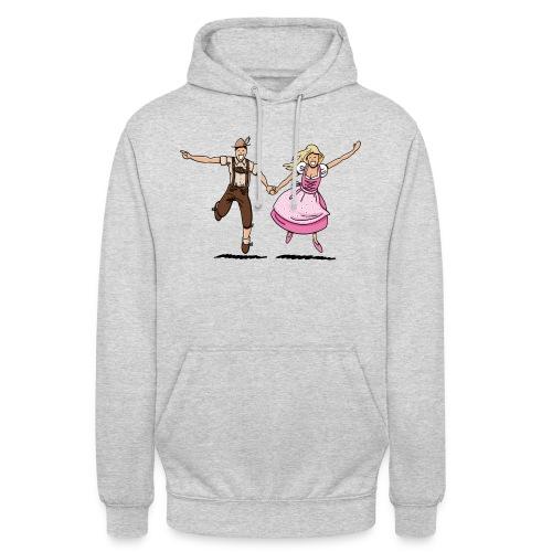 Damen T-Shirt Oktoberfest Glückliches Paar - Unisex Hoodie