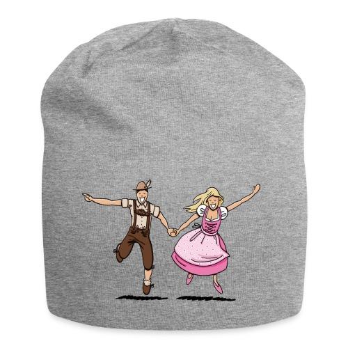 Damen T-Shirt Oktoberfest Glückliches Paar - Jersey-Beanie